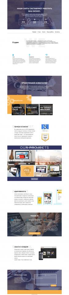 Вёрстка макета Wordpress