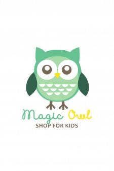 Логотип для инстаграм-магазина детской одежды