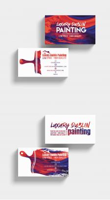 """Візитка для конкурсу """"Luxury Dublin Painting"""""""