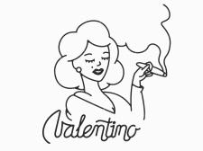 Valentino Cigars Logo