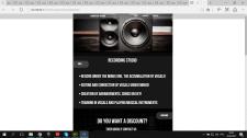 Monster Sound - первый сайт