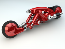 Концепт мотоцикла Detonator