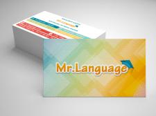 Визитка языковых курсов