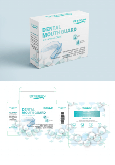 Дизайн упаковки Dental Mouth Guard