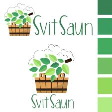 "Логотип для сайта ""Мир саун"""