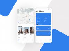 Fly tickets UI/UX App