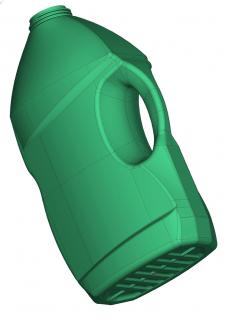 3-D модель изделия Бутылка для моющего средства