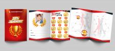 Дизайн дневника ученика танцевальной школы