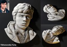 Портрет по фото для 3Д печати