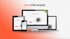 HTML шаблон Smart для Landing page