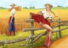 Иллюстрация для этикетки