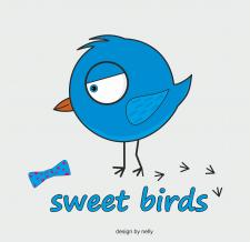 Персонаж птичка (в продаже)