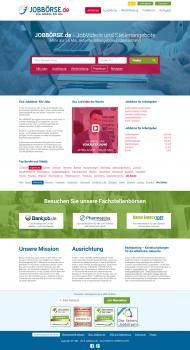 Редизайн сайта «Jobbörse»