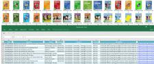 Парсинг книжных изданий по ISBN из Excel