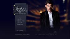 Сайт-визитка для Артура Миловского