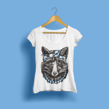 дизайн футболки Florent