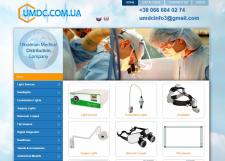Сайт-каталог медицинского оборудования