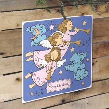 Розробка графіки для різдвяної листівки