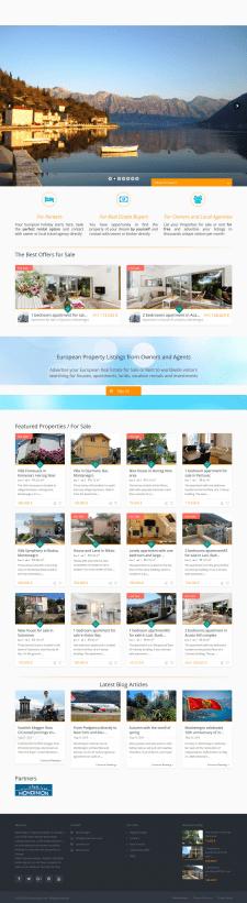 Создание сайта недвижимости на Wordpress