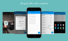 Bicycle QR code scanner