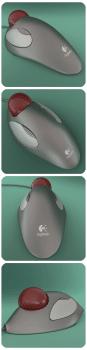 Моделювання та візуалізація трекбола logitech