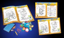 Желтое Море | детское меню с раскрасками