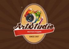 Этикетка-логотип для фотостудии