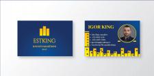 Дизайн визитки ESTKING Kinnisvara
