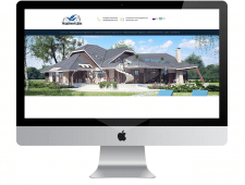 """Сайт для компании """"Надійний дом"""""""