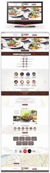 Дизайн Landing Page Кейтеринга