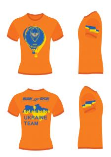 Дизайн футболки для сборной Украины