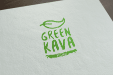 Green Kava contest logo