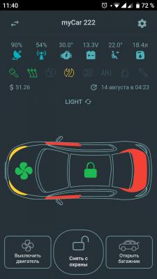 MagnuM Car Light (Mobile App - Flutter)