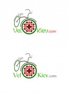 Эскизы логотипа для «ВелоКиев»