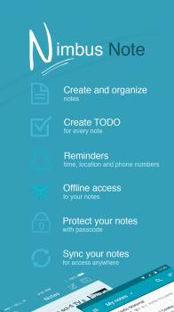 Nimbus Note - Notes and TODO