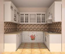 проект кухни в стиле прованс