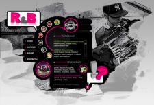 Сайт для R&B магазина