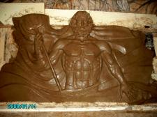"""""""Нептун"""" фрагмент скульптурной группы"""
