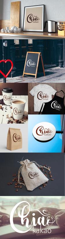 Chiao kakao. Логотип