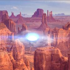 Futuristic portal