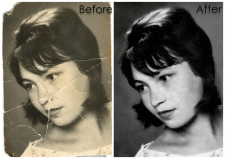 реставрация фото