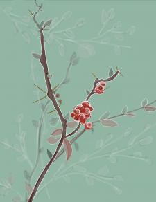 Иллюстрации новичка (ягоды)