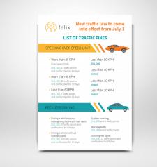 Дизайн авто инфографики
