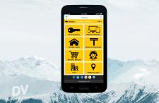 UI/UX дизайн - прототип мобильного сайта Beeline