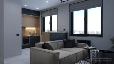 Визуализация квартиры 32.3 м2
