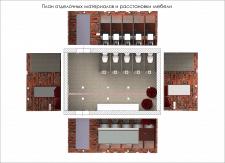 Интерьер общественного туалета