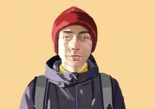Портрет в стиле реализм