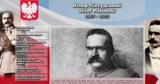 Сайт про польського політика Юзефа Пілсудського