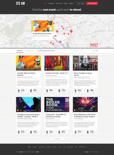 Сайт для организации и поиска мероприятий города