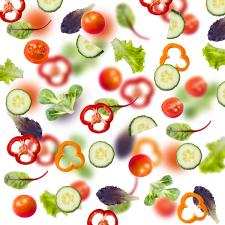 Фотоколлаж салат